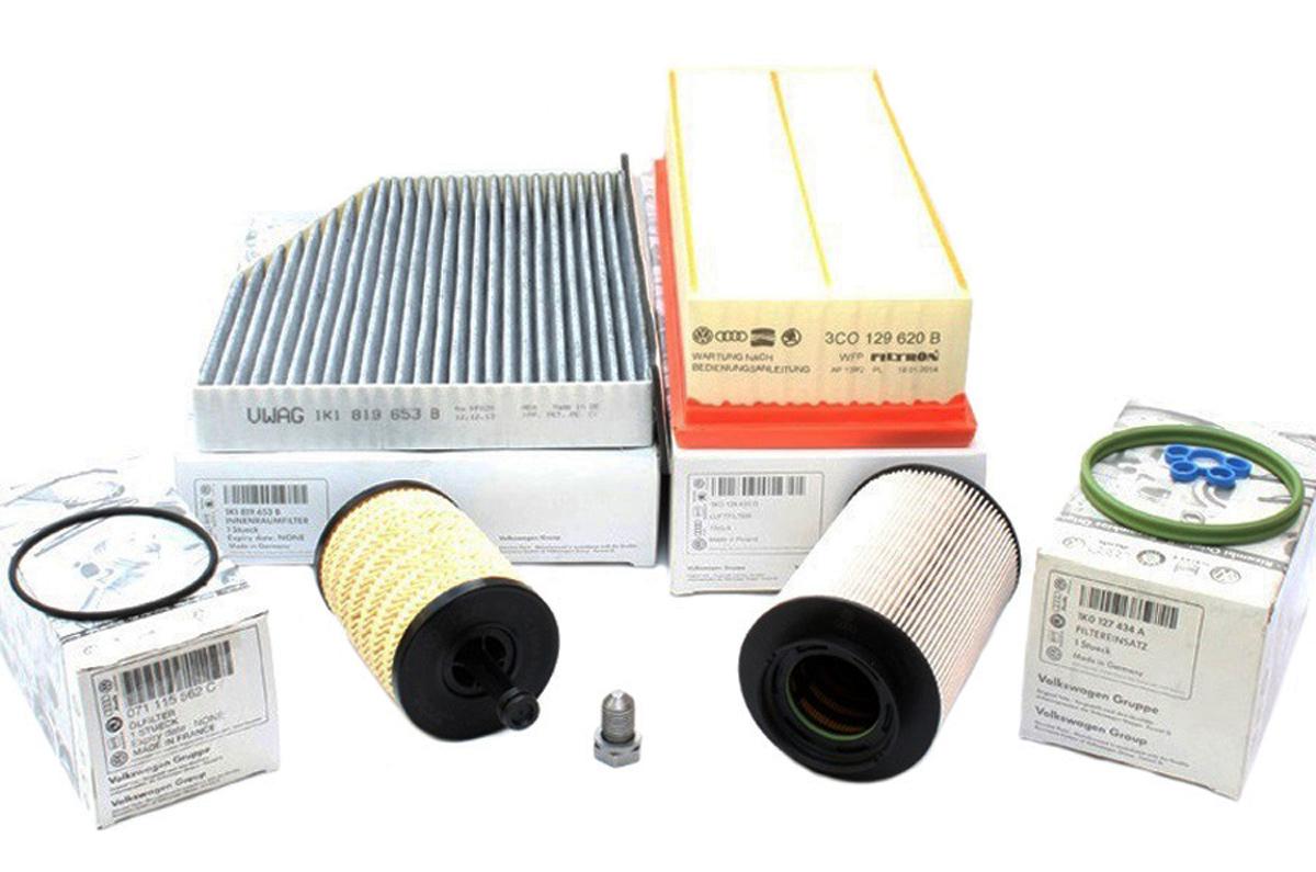 original vw tdi inspektionspaket filter golf 5 caddy. Black Bedroom Furniture Sets. Home Design Ideas