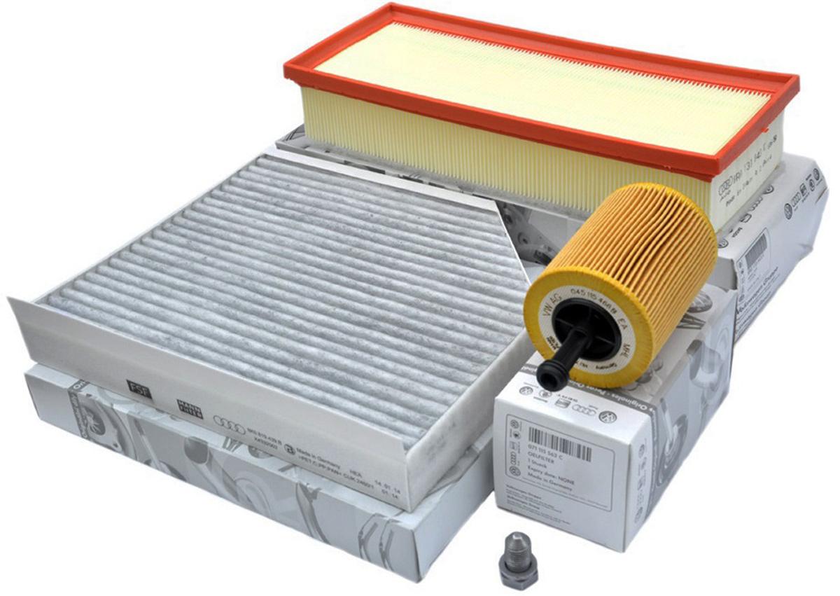 Original Audi Inspektionspaket Diesel A4 8K TDI A5 Q5 Filter Diesel Service Öl