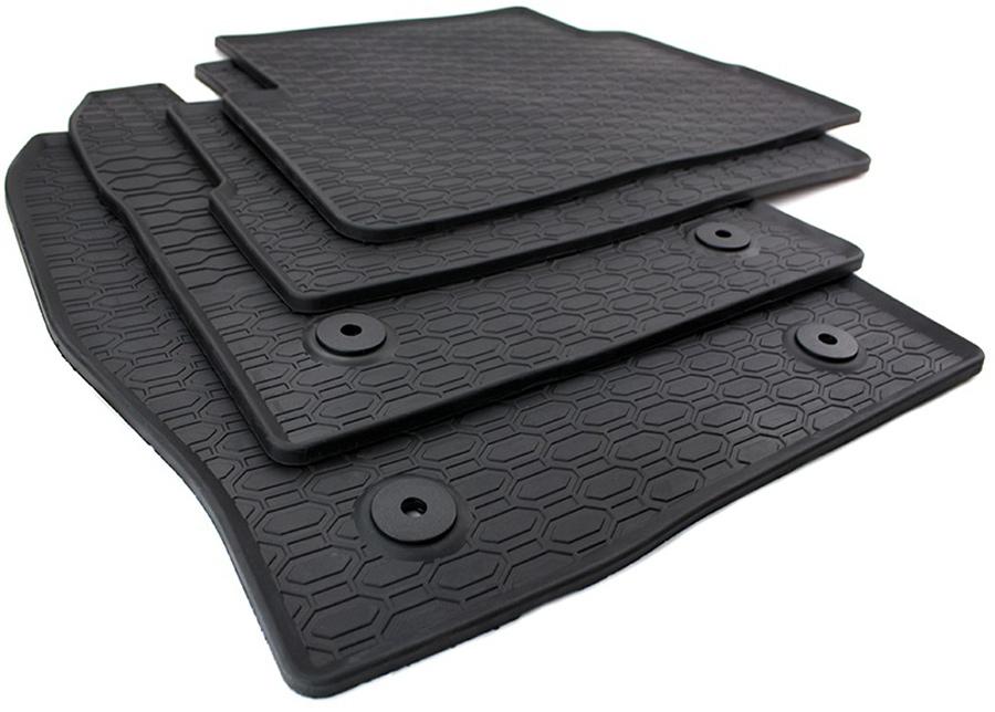 neu gummimatten ford kuga ii fu matten original qualit t auto matten 4x schwarz ebay. Black Bedroom Furniture Sets. Home Design Ideas