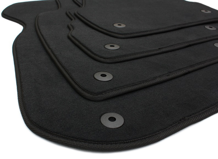 neu audi fu matten a6 4b s line original qualit t velours. Black Bedroom Furniture Sets. Home Design Ideas
