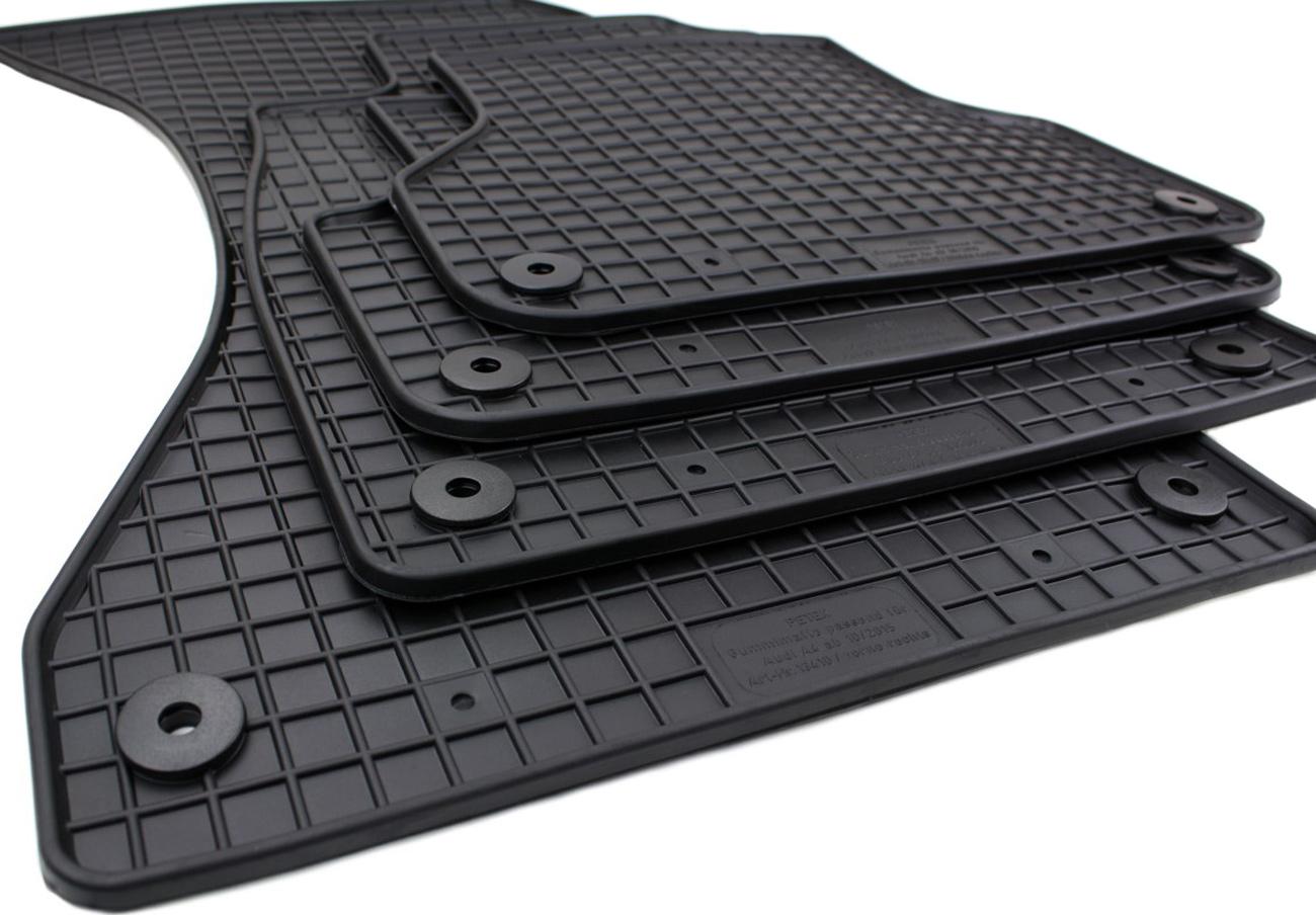 Audi A4 B9 Fussmatten 3D Fussraumschalen Set Baujahr ab 2015