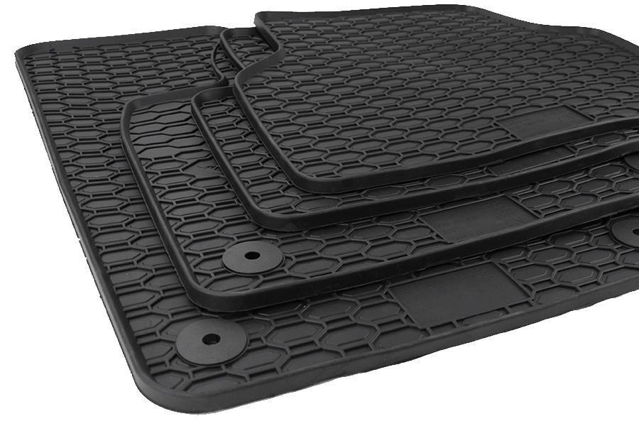 Gummi Fußmatten NEU Lengenfelder Gummimatten passend für VW Tiguan Allspace