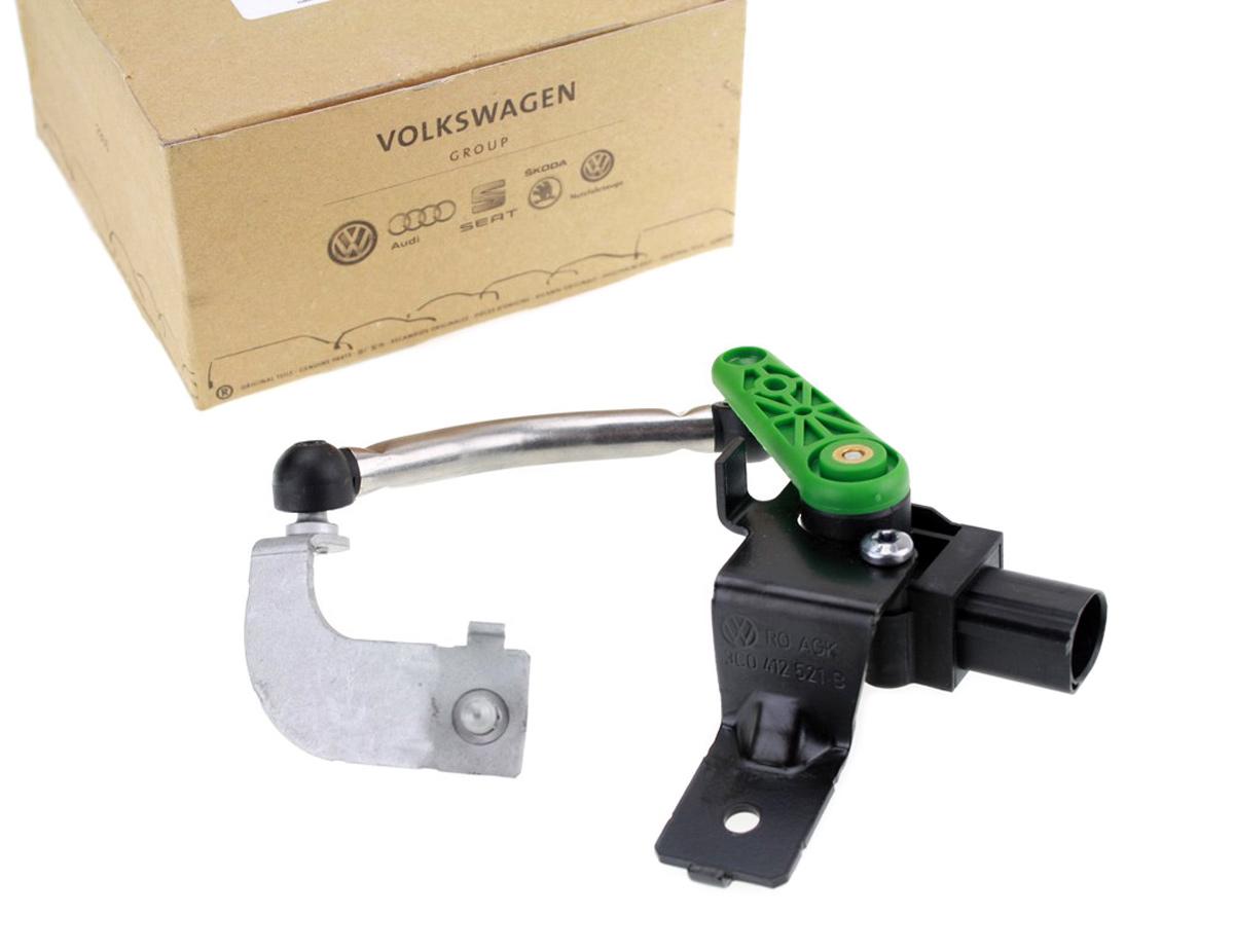 NEU für VW Audi LWR Niveau Sensor Leuchtweitenregelung vorn links 3C0412521B