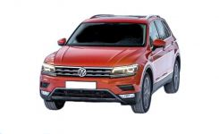 VW Tiguan 5N Fußmatten ab 2016
