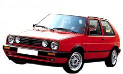 VW Golf II Wartung