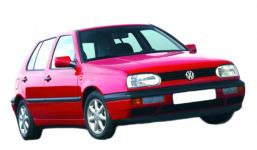 VW Golf III Wartung
