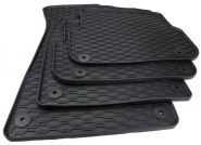 Gummimatten Audi A6 S6 RS6 4F Allroad Fussmatten S-line Allwetter Original Qualität 4-teilig schwarz