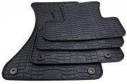 Gummimatten Audi Q5 8R Fussmatten Gummi Original Qualität SQ5 Auto Allwetter 4-teilig schwarz