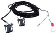 Original VW Fußraumbeleuchtung hinten Kabelsatz zur Nachrüstung