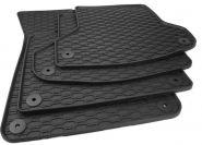 Audi A4 8K / A5 Sportback 8T Gummimatten 4-teilig schwarz    100% passgenau, idealer Schutz vor Schmutz, Feuchtigkeit + Schneematsch   geruchsarm / sehr langlebig / rutschfest   mit Rechnung und ausgewiesener MWST.   Lieferumfang: 1x Satz = 4x Gummimatte