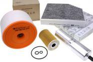 Original Audi Teile A6 4G 2.0L TDI Motor Inspektionspaket Filter Service groß 4-teilig 4-Zylinder