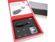 Original Audi Geschenkbox Accessories Zubehör Box USB SD Karte (16 Gb) Ventilkappen