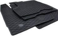 Gummimatten Dacia Duster ab 2010 Fußmatten Gummi Original Qualität Auto Allwetter 4-teilig schwarz