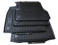 Original Audi Gummimatten A7 (4G) Fußmatten S-Line S7 RS7 Sportback Allwetter 4-teilig schwarz