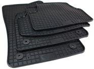 Gummimatten Skoda Karoq NU ab 2017 Fußmatten Gummi Original Qualität Auto Allwetter 4-teilig schwarz