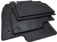 Gummimatten Mazda 6 ab 2012 Fußmatten Gummi Original Qualität Auto Allwetter 4-teilig schwarz rund Druckknopf