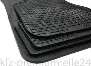 Gummimatten BMW 1er E81 E82 E87 E88 F20 F21 X1 E84 2er F22 Original Qualität Auto Fußmatten Allwetter Schwarz 4-teilig