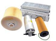 Original Audi Teile A6 4F Allroad 2.7L 3.0L V6 TDI Motor Inspektionspaket Filter Service KIT 4-teilig ab 10/2008