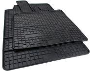 Gummimatten Smart fortwo (451) ab 2007 Original Qualität Gummi Fußmatten Allwetter 2-teilig schwarz