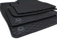 Gummimatten Seat Ibiza 6F ab 06/2017/ Arona FR Fussmatten Gummi Original Qualität Allwetter 4-teilig schwarz