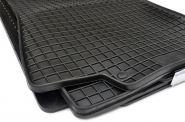 Gummimatten VW Golf III + Vento + GTI 16V Fußmatten Gummi Original Qualität Auto Allwetter 4-teilig schwarz