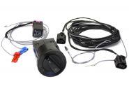 Original VW Nebelscheinwerfer Passat 3BG W8 Kabelsatz mit Relais Licht Schalter Nachrüstung