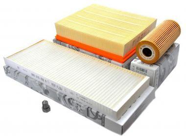 Original Audi Teile A4 8D TDI AJM Motor Filter Inspektionspaket 4-teilig