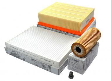 Original Audi Teile A4 8E Inspektionspaket TDI Motor Filter 3-teilig