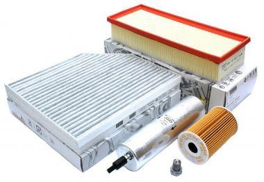 Original Audi Teile Inspektionspaket A4 8K A5 8T Q5 8R 2.0L TDI Common Rail Motor Filter SET 4-teilig