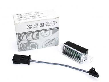 Original VW LED Leuchte Handschuhfach zur Nachrüstung A3 A4 A6 Golf 5 6 Passat Touran Polo Tiguan Sharan Caddy