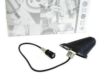 Original VW Antennenfuß Dachantenne M6 mit Dichtung Golf 4 Bora Passat Polo Lupo GTI R32