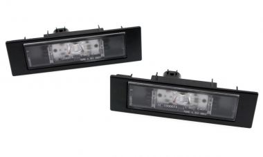 Original BMW LED Kennzeichenleuchten Nummernschildbeleuchtung E81 E87 E88 E82 F20 F21 F12 F13 F06 Z4 E89 i3