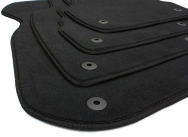 Audi A6 4B / Allroad Fußmatten Velours S-Line Original Qualität Autoteppiche schwarz 4-teilig