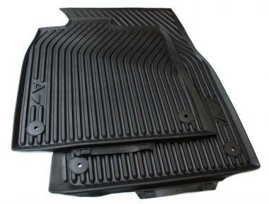 Original Audi A7 S7 RS7 Sportback 4G Gummimatten S-Line Auto Fußmatten Allwetter 2-teilig schwarz