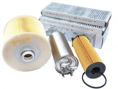 Original Audi Teile A6 4F Allroad 2.7L 3.0L V6 TDI Motor Inspektionspaket Filter Service 4-teilig bis 10/2008
