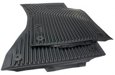 Original Audi Gummimatten A6 (4G) Fußmatten S-Line A6 Allroad S6 RS6 Allwetter vorn 2-teilig schwarz