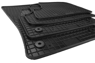Gummimatten Audi A3 8V Fußmatten S3 RS3 3-türer Cabriolet Fußmatten Original Qualität S-Line Allwetter 4-teilig schwarz