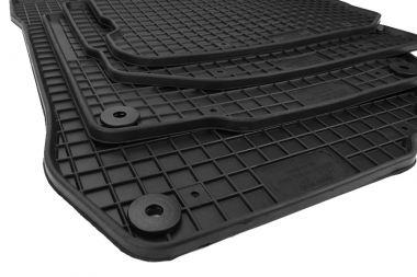 Gummimatten Seat Toledo Leon 1M Fußmatten Gummi Original Qualität Auto Allwetter 4-teilig schwarz
