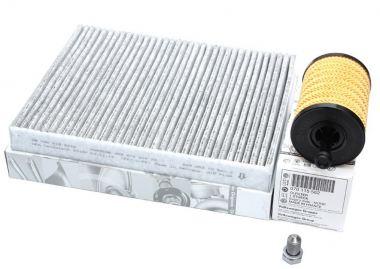 Original VW Teile T5 2.5L TDI Motor Filter Service Inspektionspaket Öl Luft Pollenfilter  Multivan Transporter Shuttle