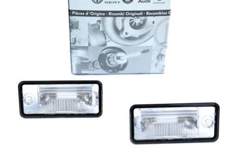 Original Audi Kennzeichenbeleuchtung Leuchten A3 8P A4 8E A6 4F Q7 4L A8 4E