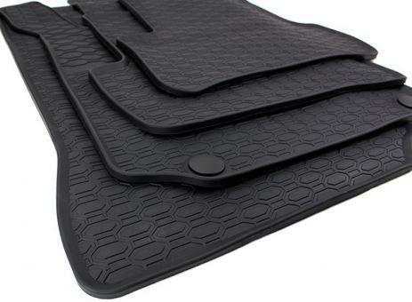 Gummimatten passend für Mercedes A B Klasse W176 W246 CLA C117 GLA X156 Fußmatte Gummi schwarz Premium Qualität Allwetter