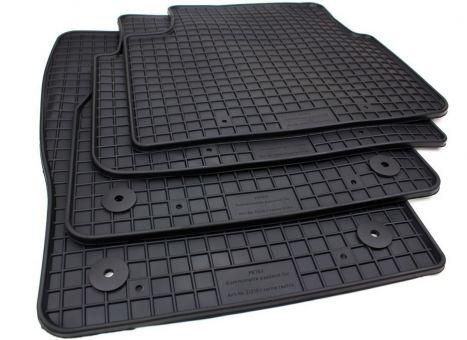 Gummimatten passend für Skoda Scala / passend für Kamiq (NW) ab 2019 Fußmatten Gummi Auto Allwetter 4-teilig schwarz