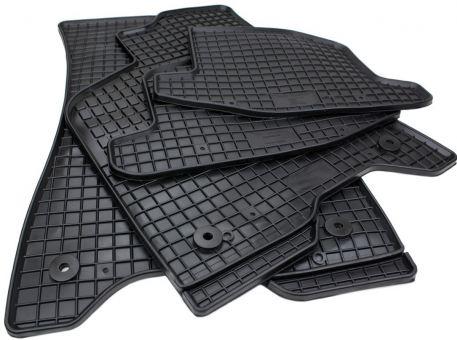 Gummimatten passend für VW Lupo 6X für Seat Arosa 6H Fußmatten Premium Qualität Allwetter Matten 4-teilig schwarz