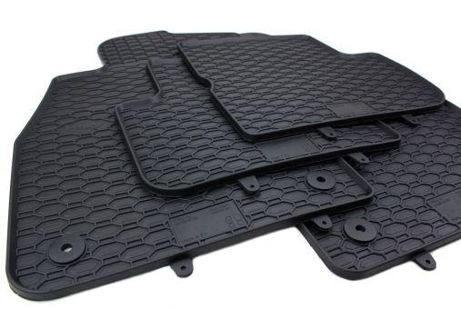 Gummimatten passend für Opel Corsa D ab 2006 Fußmatten Gummi Premium Qualität Auto Allwetter 4-teilig schwarz