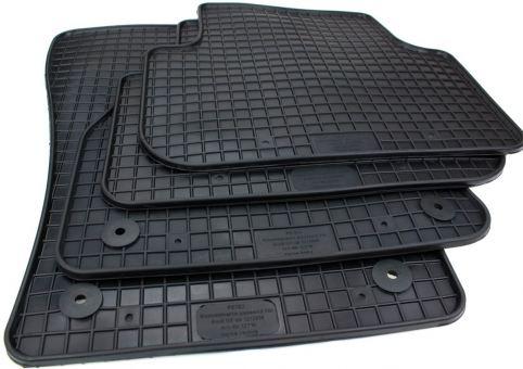 Gummimatten passend für Audi Q3 SQ3 RSQ3 (F3) ab 10/2018 Fussmatten in Premium Qualität Allwetter Matten 4-teilig schwarz