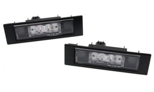 LED Kennzeichenleuchten Nummernschildbeleuchtung passend für BMW E81 E87 E88 E82 F20 F21 F12 F13 F06 Z4 E89 i3