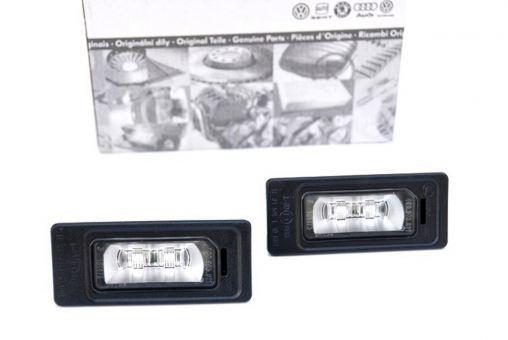 Original Audi LED Kennzeichenbeleuchtung Leuchten A1 S1 A4 S4 RS4 A5 S5 RS5 A6 S6 A7 S7 Q5 SQ5 TT TTS