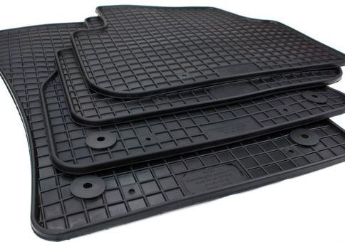 Gummimatten passend für Audi Q3 F3 (ab 10/2018) Fussmatten in Premium Qualität Auto Allwetter Matten 4-teilig schwarz