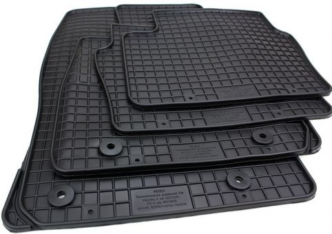 Gummimatten passend für Mazda CX3 Mazda 2 ab 2015 Premium Fussmatten Allwetter Gummi schwarz 4-teilig