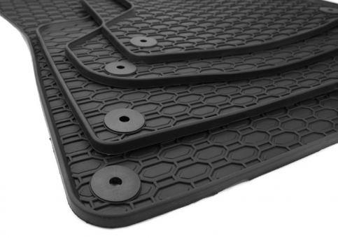 Gummimatten passend für Audi A3 S3 8P Sportback Limousine Cabriolet Fußmatten Premium Qualität Allwetter 4-teilig